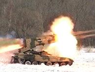 """Военные уничтожили """"противника"""", впервые применив """"Буратино"""" во время боя"""
