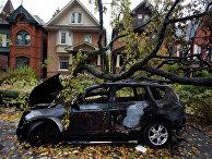 Последствия урагана «Сэнди» в Торонто, США
