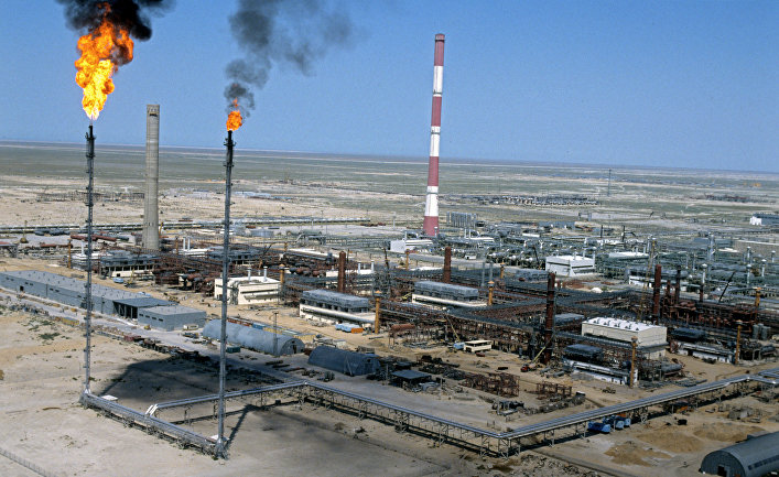 Нефтяное месторождение Тенгиз