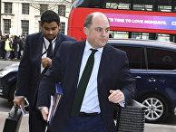 Министр безопасности Бен Уоллес в Лондоне