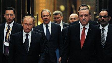 Рабочий визит В.Путина вТурцию