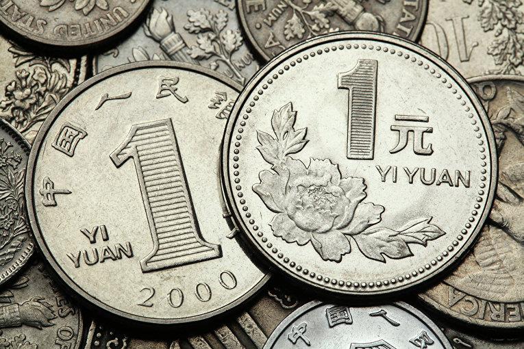 Монеты в 1 юань