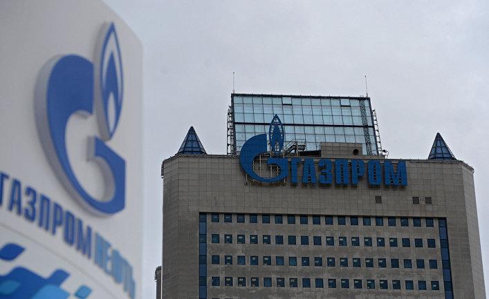 Здание Газпрома в Москве