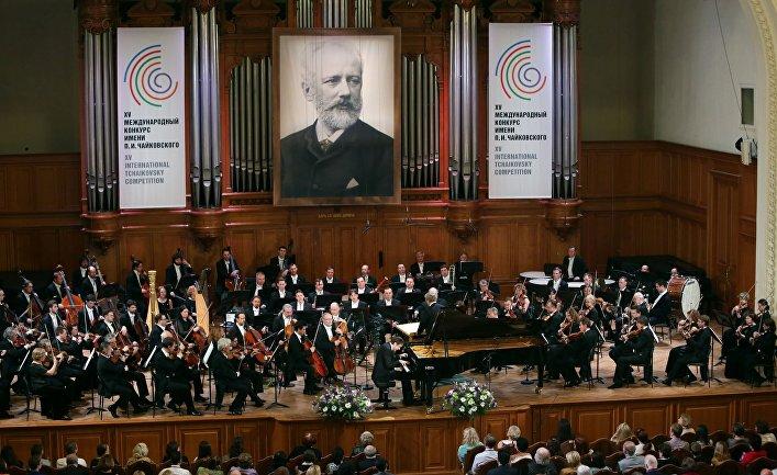 Торжественное открытие XV Международного конкурса имени П.И. Чайковского