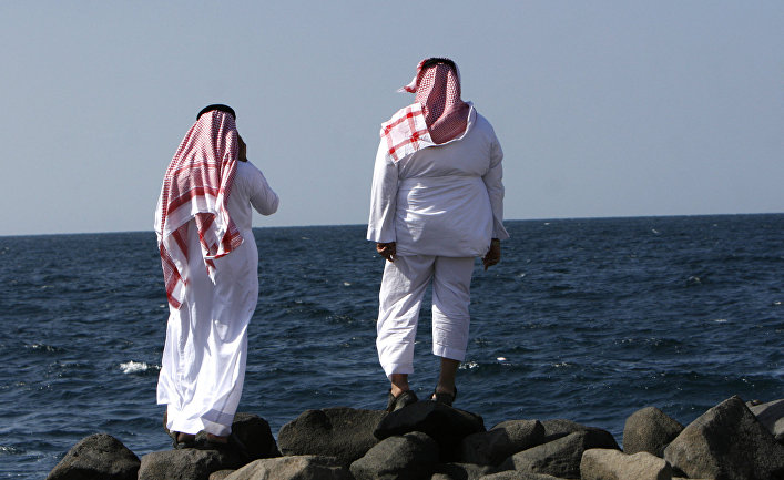 Побережье Красного моря в городе Джидда в Саудовской Аравии