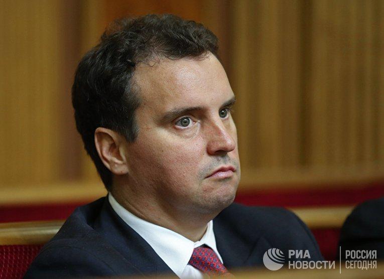 Министр экономического развития и торговли Айварас Абромавичус