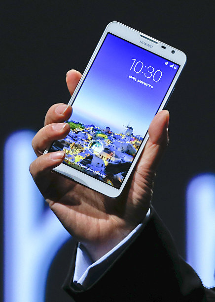 Смартфон Ascend Mate 2 от компании Huawei