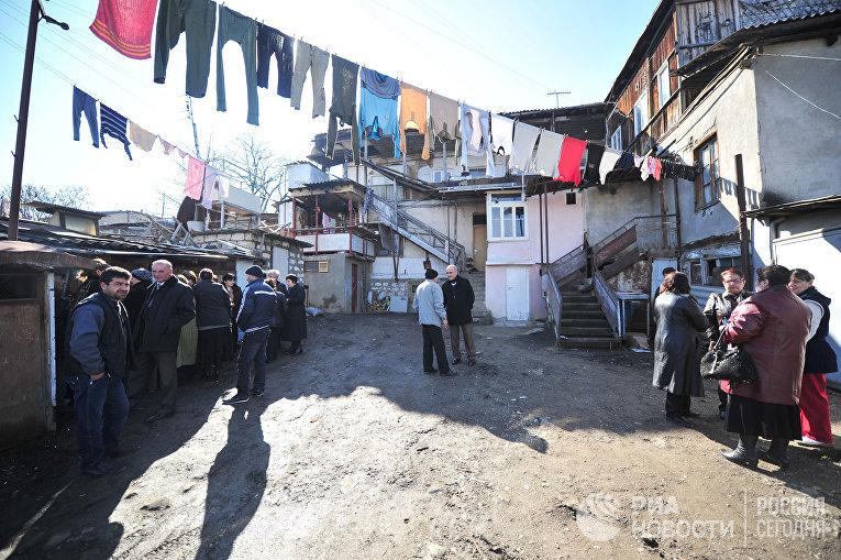 Старый квартал Степанакерта, Нагорный Карабах