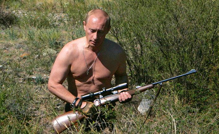 Владимир Путин в Тыве
