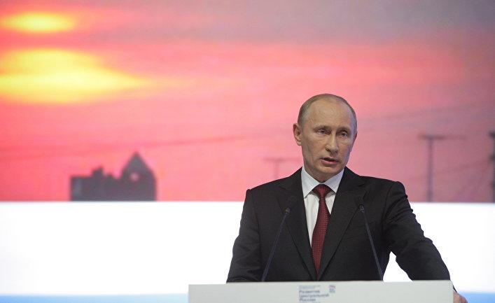 Поездка Владимира Путина в Брянск