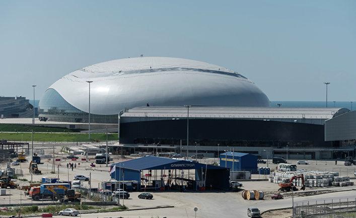 Завершение строительства главного медиацентра в Олимпийском парке