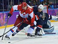 Олимпиада 2014. Хоккей. Мужчины. США - Россия