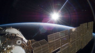 Солнце над Землей