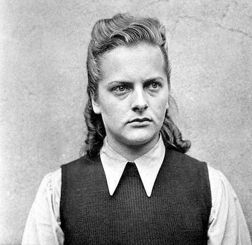 Ирма Грезе - женщина, работавшая в концентрационных лагерях Равенсбрюк и Аушвиц