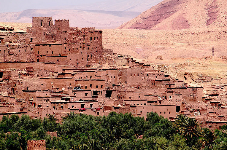 Ксар Айт-Бен-Хадду в Марокко