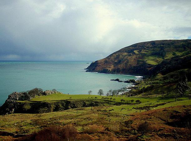 Береговая линия графства Антрим, Ирландия