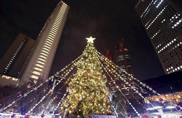 Рождественская елка в Токио