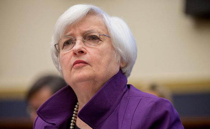 Председатель Федеральной резервной системы Джанет Йеллен