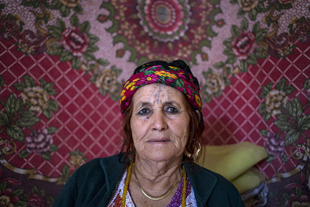 Фатма Хаддад, берберка из Алжира