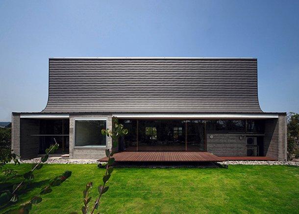Дом-дзютаку в Японии