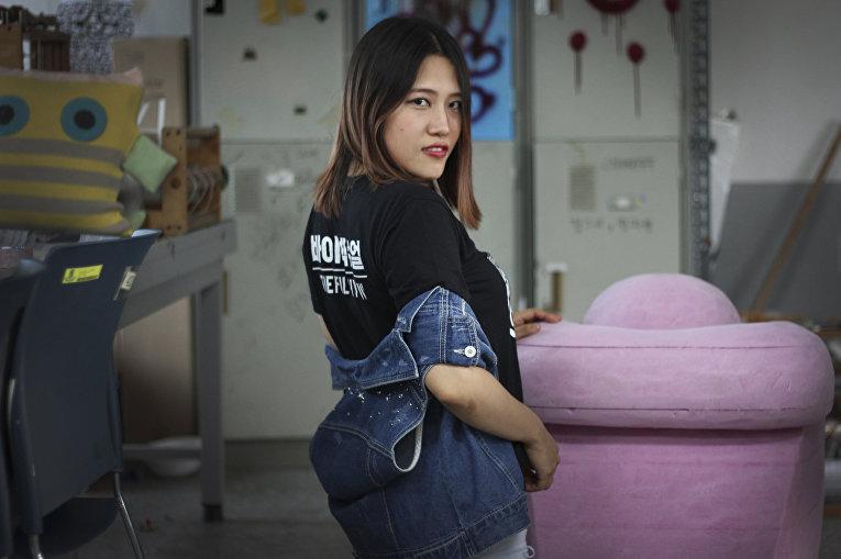 ЛГБТ в Южной Корее: Ёу Хан Сор