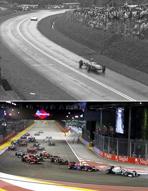 Гран-при Малайзии в 1964 году и Гран-при Сингапура в 2013 году