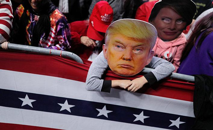 Сторонники президента США Дональда Трампа