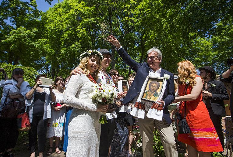 Свадьба Марка Марчика и Марички Кудрявцевой