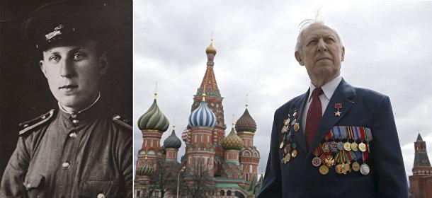 Ветеран Великой отечественной войны Борис Рунов