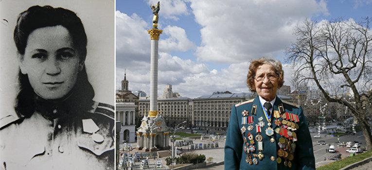 Ветеран Великой отечественной войны из Украины Валентина Куцынич