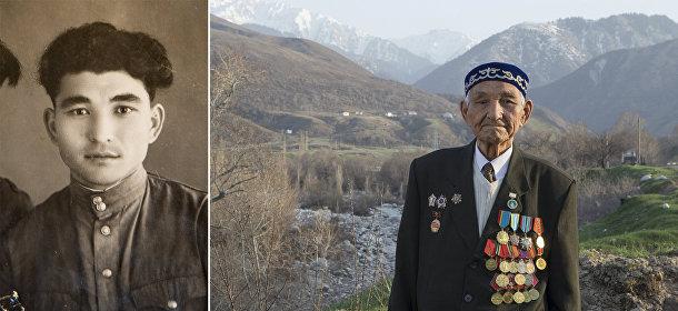 Ветеран Великой отечественной войны из Казахстана Куставлет Тасыбаев