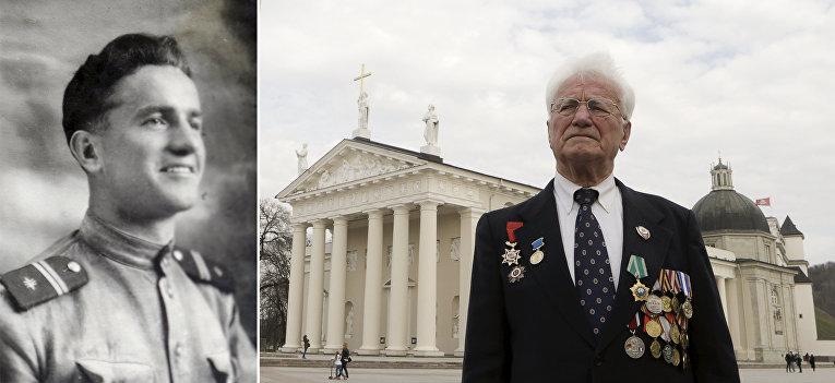 Ветеран Великой отечественной войны из Литвы Юлиус Декснис