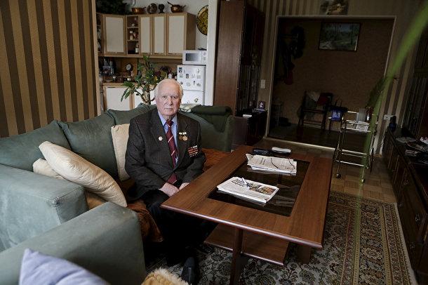 Ветеран Великой отечественной войны из Эстонии Карл Раммус