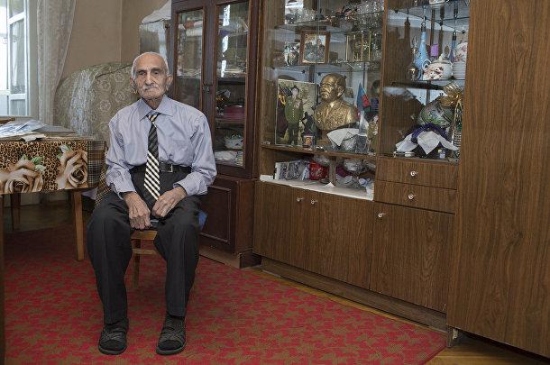 Ветеран Великой отечественной войны из Азербайджана Аллахверди Алиев