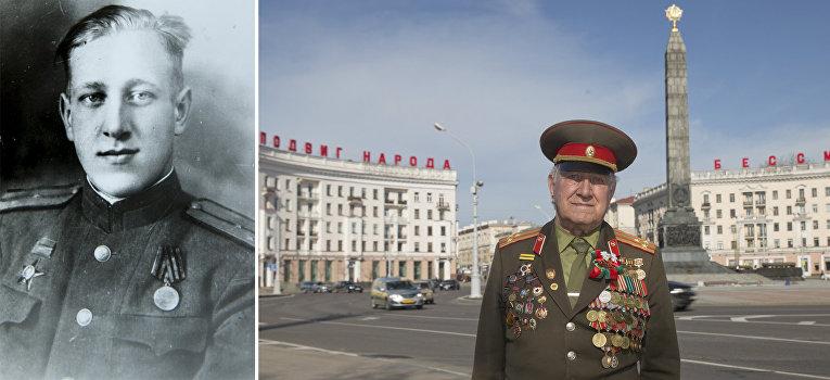 Ветеран Великой отечественной войны из Белоруссии Николай Мазаник