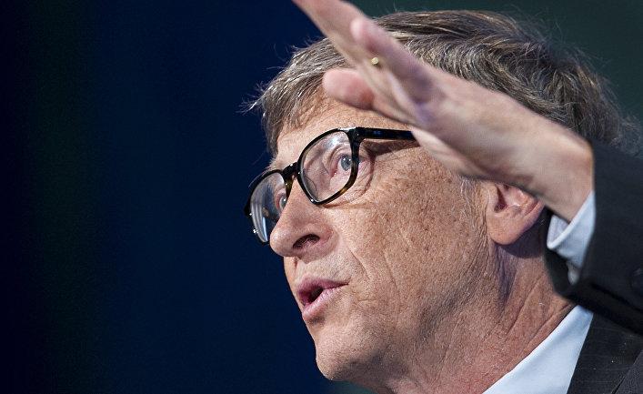 Бывший руководитель компании Microsoft Билл Гейтс