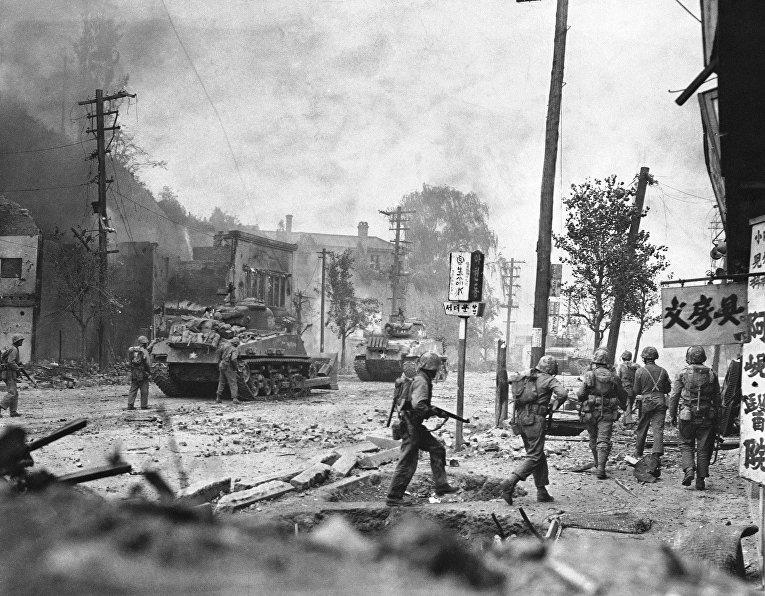 Захват Сеула в сентябре 1950 года, Корейская война 1950-1953 годов