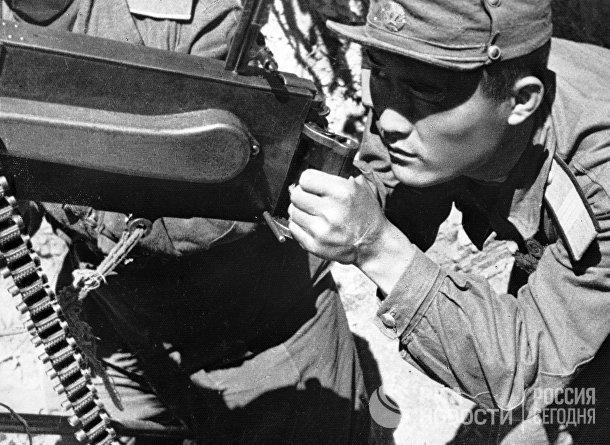 Солдат северокорейской армии