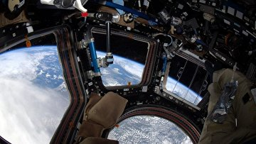 Фотография Земли, сделанная астронавтом Скоттом Келли