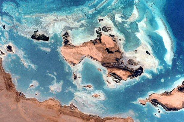 Фотография Земли, сделанные астронавтом Скоттом Келли