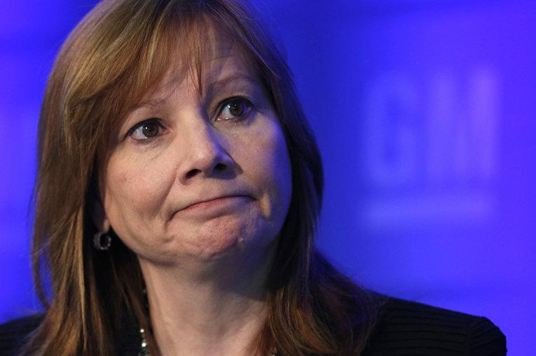 Генеральный директор General Motors Мэри Барра