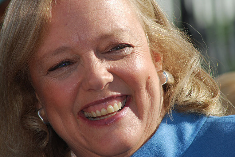 Глава корпорации Hewlett-Packard Мег Уитмен