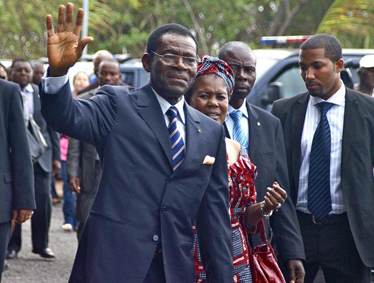 Президент Экваториальной Гвинеи Теодоро Обианг Нгема Мбасого