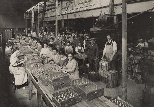 Работа завода во время Первой мировой войны