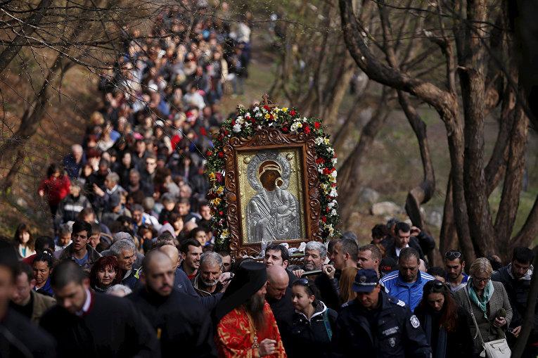 Празднование Пасхи в Болгарии