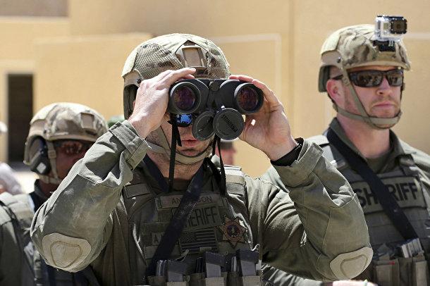 Американские солдаты на 6-х ежегодных соревнованиях военных подразделений под эгидой короля Иордании Абдаллы II