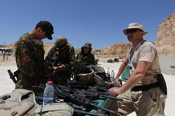 Солдаты из Казахстана на 6-х ежегодных соревнованиях военных подразделений под эгидой короля Иордании Абдаллы II