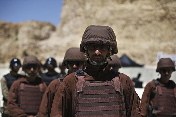 Солдаты из Саудовской Аравии на 6-х ежегодных соревнованиях военных подразделений под эгидой короля Иордании Абдаллы II