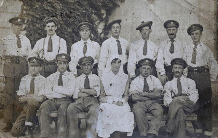 Джон Пейдж из дважды благословенной деревни на Первой мировой войне