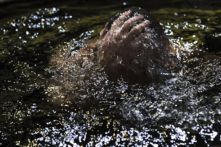 Празднование Крещения в Москве